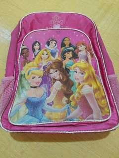 Disney Backpack Pink Large with compartment