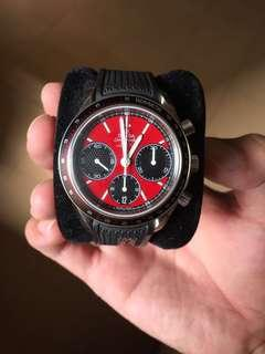 Omega Speedmaster Racing Red co-axial watch