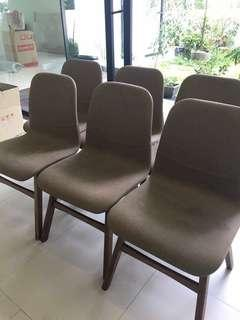 Harvey Norman Dining Chairs - set of 6