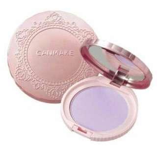 【內附實品照】CANMAKE棉花糖蜜粉餅(紫)