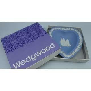 Wedgwood BLUE HEART TRAY  w/Box