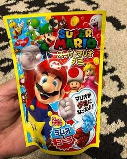 Mario gummy candy