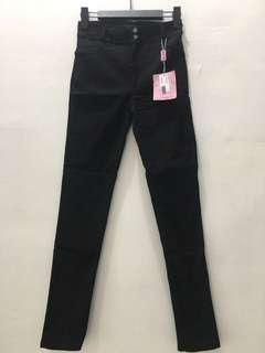 Black Stretchy Jeggings Legging Jeans
