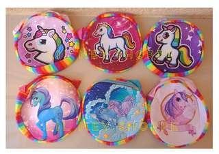Unicorn Sling Bag (stripes)