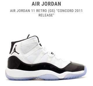 Air Jordan 11 retro (GS)