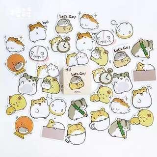 (PO) hamster stickers