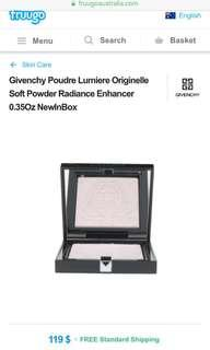 ✨ SAVE 60%✨ GIVENCHY Limited Edition Poudre Lumiere Originelle