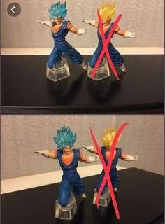 龍珠超 vs battle dragon ball super 超藍格比達 扭蛋 figure