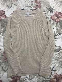 Cream Coloured Wooly Jumper