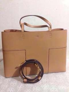 New TORY BURCH Bag, BLOCK-T Triple Compartment Tote REPRICED! 17,999 Bag Sale for a Cause