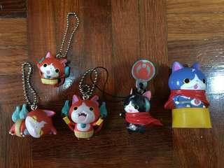 Anime Yokai Watch Cat Lucky Charm Keychain Bag Accessory