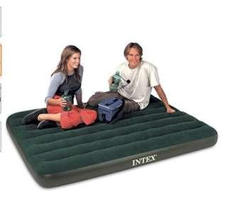Promo: Intex Downy Airbed with BATTERY PUMP