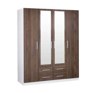 Christmas sale brand 4door 2 drawer wardrobe available