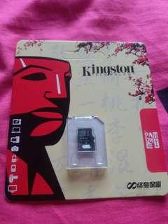 kingston 63gb class10 SD Card