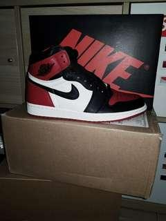 Air jordan Bred Toe US9 BNIB