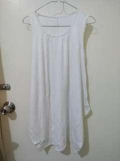 Dress tanktop kaos katun adem melar