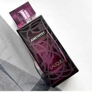 parfum lalique amethyst for woman original non box