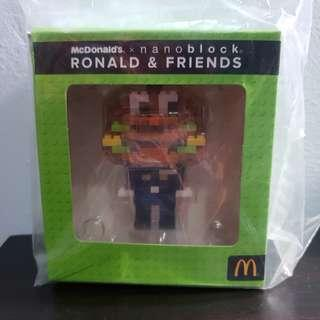 McDonald's Officer Big Mac Nanoblock