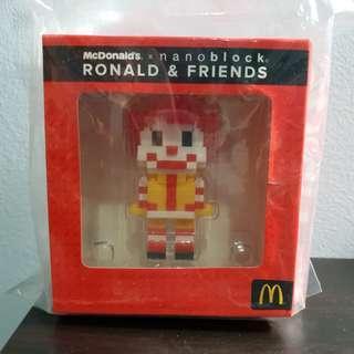 McDonald's Ronald Nanoblock