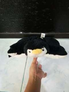 Preloved Penguin Pillow