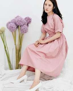🚚 Dresscode 粉紅佳人法式洋裝