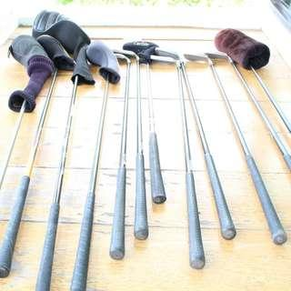 Assorted Brands Names For Vintage Second hand Golf Iron Gear Set
