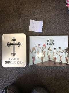 Tara albums and signed album and posters