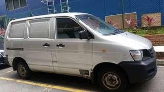Toyota Liteace for Rent