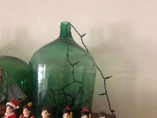 蒸餾瓶 老式玻璃工法蒸餾瓶擺飾