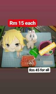 Clearance Sales!! Anime merchandise