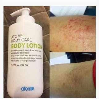 atomy organic body lotion from korea