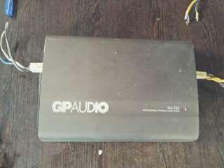 GP Audio Amplifier