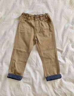 Khaki Slim Pants