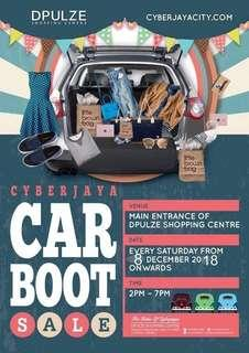 Find me at CAR BOOT SALE CYBERJAYA