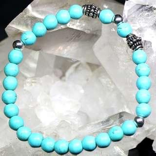 Brand New Ladies Unisex Wrist Bracelet (With Genuine Stones / Semi-Precious Stones & 925 Silver Accessories)