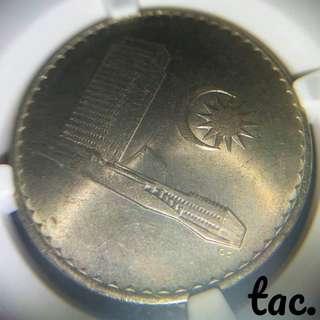 tac. 🇲🇾Malaysia 1978 50Sen (NGC MS 65)
