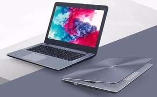 Kredit Laptop Asus A442UR-GA041T, proses cepat. Tersedia All Type