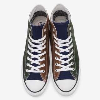🚚 Converse  x  Gore-Tex   綠藍褐拼接款