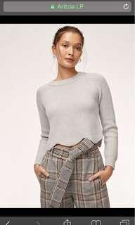Wilfred - Grey Sardou Sweater