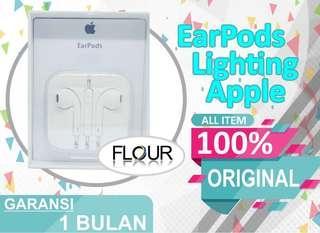 HEADSET EARPHONE EARPODS IPHONE 4 5 5S 6 6S 6+ ORIGINAL 100%