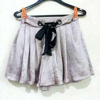 Metallic Lilac Shorts