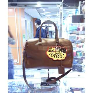 5658e839762b YSL Yves Saint Laurent Brown Leather Classic Style Crossbody Shoulder  Handbag Hand Bag 聖羅蘭啡