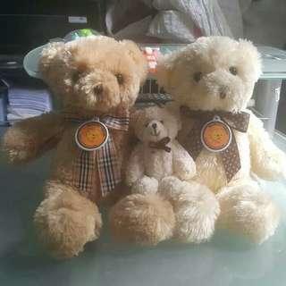 Paket Keluarga Beruang Ayah - Ibu - Anak
