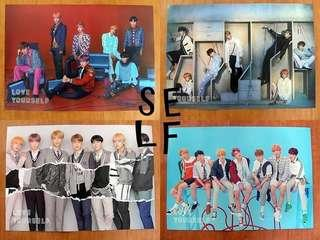 BTS Official Posters (Readystock)