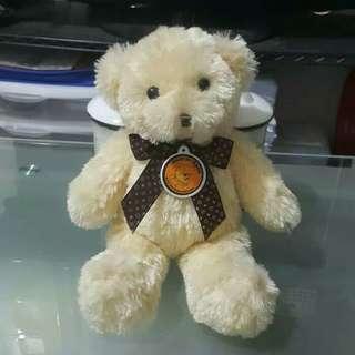 Boneka Beruang Isbon 33cm - Putih