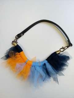 人手製網紗頸鏈手鏈 handmade mesh necklace bracelet