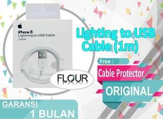 KABEL CHARGER IPHONE 5 5S 6 6S 6 PLUS 7 7S 7 PLUS LIGHTNING