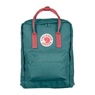 Classic Frost Green Peach Pink Kanken Backpack Instock
