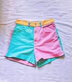 Authentic American Apparel Pastel HW Shorts