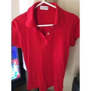 Original Giordano Red Polo Shirt